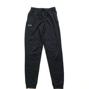 Under Armour Mens size S Black Tricot Pants